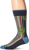 Robert Graham Men's Half-Mask Socks