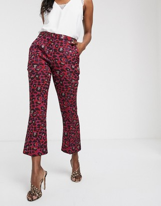 Closet London Closet bootcut cropped pants