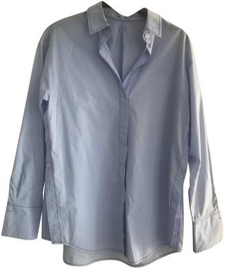 Escada Blue Cotton Top for Women