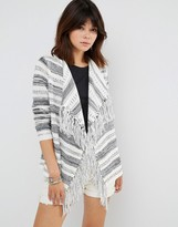 Only Calista Long Sleeve Draped Cardigan