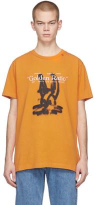 Off-White Off White Orange Cartoon T-Shirt