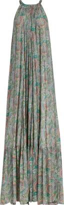 AllSaints Roma Shahmina Paisley Maxi Dress