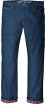 "Dickies Men's Relaxed Straight Fit Flannel-Lined Jean 34"" Inseam"