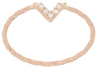 Maria Black 14kt gold Viva diamond ring