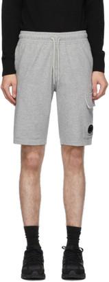 C.P. Company Grey Cargo Bermuda Shorts