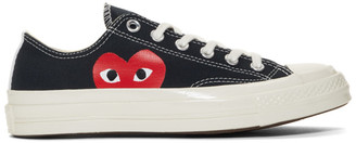 Comme des Garcons Black Converse Edition Half Heart Chuck 70 Low Sneakers