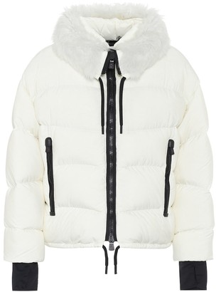 MONCLER GRENOBLE Plaret down ski jacket