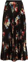 Erdem Nesrine floral-print pleated skirt