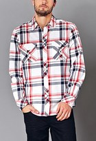 Forever 21 Classic Fit Plaid Shirt