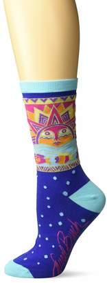 Laurèl Burch Women's Sun Fish Crew Socks