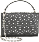 Giani Bernini Softy Perforated Wallet on a String, Only at Macy's