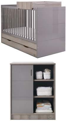 O Baby Obaby Madrid 2-Piece Nursery Furniture Set