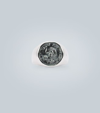 Tom Wood Sterling silver ring with coin