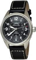 Hamilton H70505733 Khaki Field Automatic Leather & Dial Men's Watch