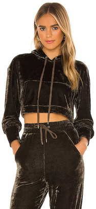Michael Costello x REVOLVE Cropped Hoodie