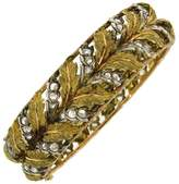 Buccellati Mario 18K Yellow, Rose And White Gold and Diamond Bracelet