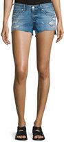 Rag & Bone Cutoff Distressed Denim Shorts, Gunner