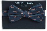 Cole Haan Sneaker Print Bow Tie