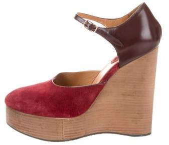 Chloé Ankle Strap Wedges