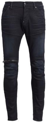 G Star 5620 3D Zip Knee Slim Fit Jeans