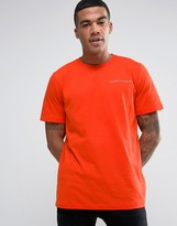 Under Armour Charged Cotton T-Shirt In Orange 1277085-860
