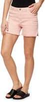 Sanctuary Frayed Side Slit Denim Shorts