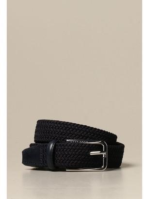 HUGO BOSS Belt Woven With Metal Buckle