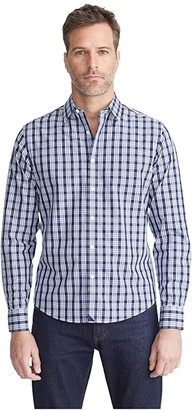 UNTUCKit Cordier - Wrinkle Free (Blue) Men's Clothing