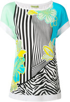 Versace printed T-shirt - women - Viscose - 42