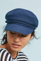 Anthropologie Navy Engineer Hat