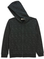 Sovereign Code Boys' Textured Zip-Up Hoodie - Sizes S-XL