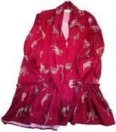 Vicolo Burgundy Dress for Women