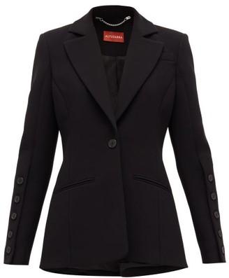 Altuzarra Single-breasted Grain De Poudre Suit Jacket - Black