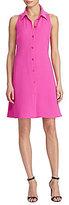 Lauren Ralph Lauren Randy Crepe A-Line Dress