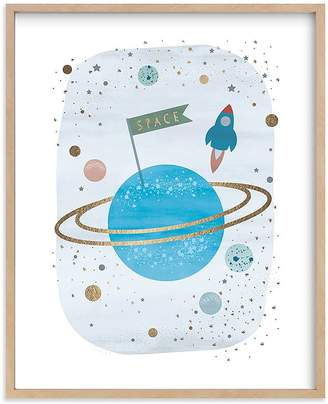 Pottery Barn Kids Outer Space Wall Art by Minted®, 11x14, Black