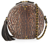 Jerome Dreyfuss Snakeskin Remi Circle Bag