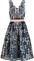 Peter Pilotto Printed cloqué dress