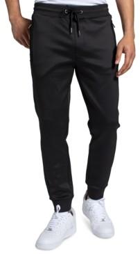Sean John Men's Extended Zipper Pockets Jogger Pants