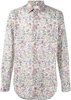 Paul Smith floral print long sleeve shirt - men - Cotton - 15 1/2