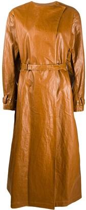 Isabel Marant Corly belted midi coat