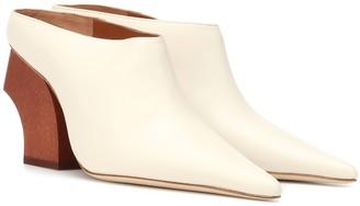REJINA PYO Jasmin leather mules