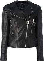 Belstaff leather jacket - women - Leather/Polyester/Viscose - 42
