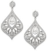 Eliot Danori Earrings, Crystal and Cubic Zirconia Drop Earrings (3 ct. t.w.)