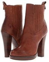 Frye Donna Chelsea (Dark Brown Smooth Full Grain) - Footwear
