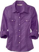 Women's Roll-Up Camp Shirts