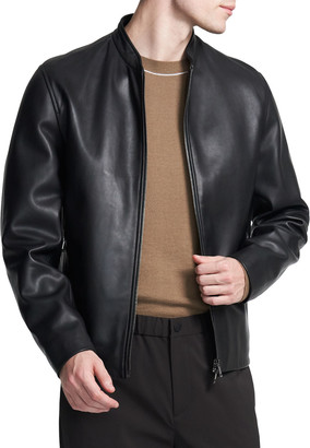 Theory Men's Moore Lamb Leather Jacket