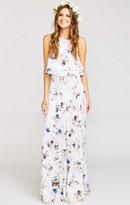 MUMU Princess Ariel Ballgown Maxi Skirt ~ Bouquet Beauty