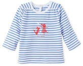 Petit Bateau Baby girl long-sleeved striped tee