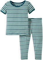 Kickee Pants Printed Pajama Set (Baby) - Animal Stripe - 18-24 Months