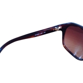 Chloé Turquoise Plastic Sunglasses
